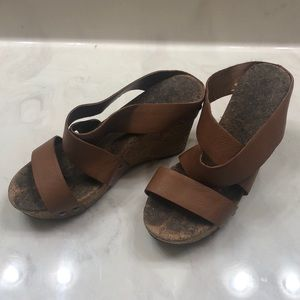 Lucky Brand Brown Wedges
